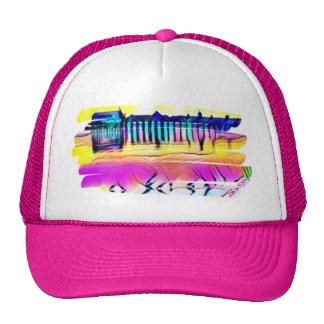 Le casquette multicolore customisé d'OOB pour elle