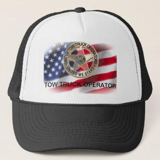 Le casquette uni d'Américain d'opérateurs de
