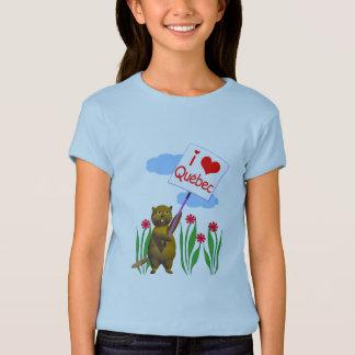 Le castor canadien aime le Québec T-shirt