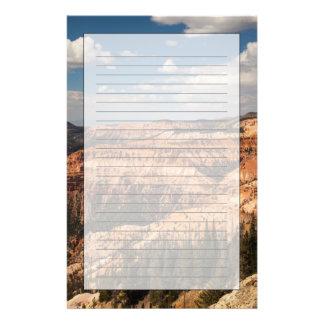 Le cèdre casse le monument national, Utah Papier À Lettre