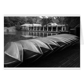 Le Central Park de Boathouse Carte De Vœux