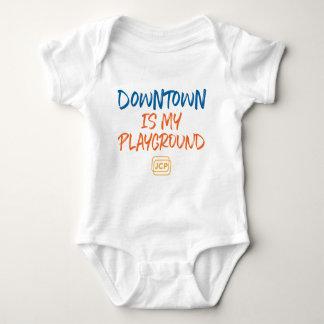Le centre ville est ma combinaison de bébé de body