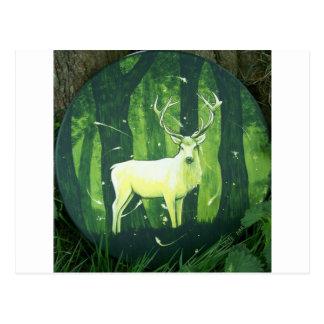 Le cerf blanc cartes postales