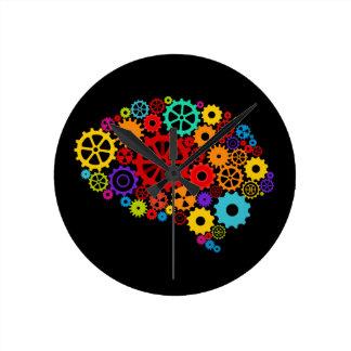 Le cerveau embraye l'horloge murale