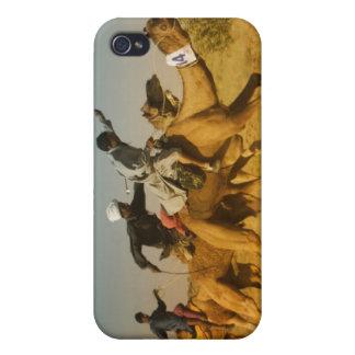 Le chameau du Ràjasthàn, Inde emballe dans le dése Étui iPhone 4/4S