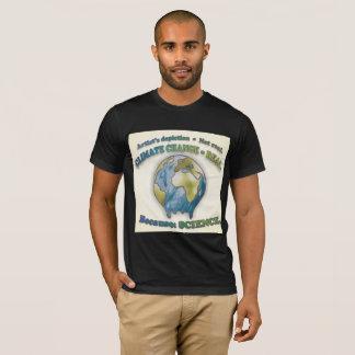 Le changement climatique est vrai. T-shirt