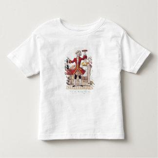 Le chanteur de rue, gravé par Alois Senefelder T-shirt Pour Les Tous Petits