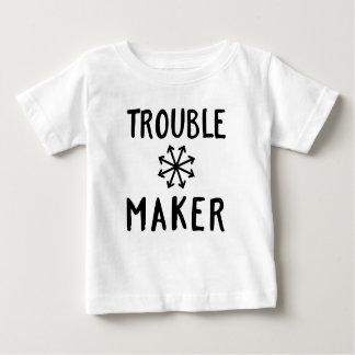 Le chaos de fabricant de problème badine t-shirt pour bébé