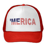 'Le chapeau original de camionneur de drapeau de M