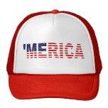 'Le chapeau original de camionneur de drapeau de M Casquette