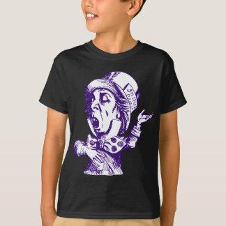 Le chapelier fou a encré le pourpre t-shirt