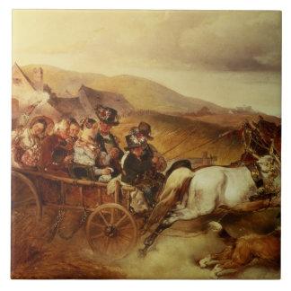 Le chariot de mariage grand carreau carré