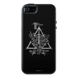 Le charme   de Harry Potter DE MORT SANCTIFIE le Coque OtterBox iPhone 5, 5s Et SE