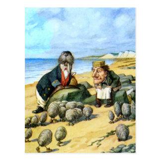 Le charpentier et le morse carte postale