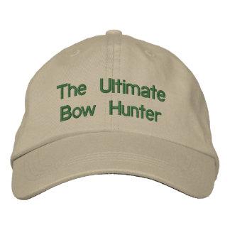 Le chasseur final d'arc chapeau brodé