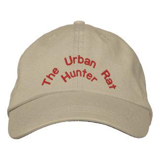 Le chasseur urbain de rat casquette de baseball brodée