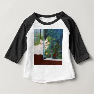 Le chat aquatique t-shirt pour bébé