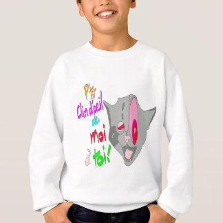 LE CHAT CLIN D'OEIL 1.PNG SWEATSHIRT