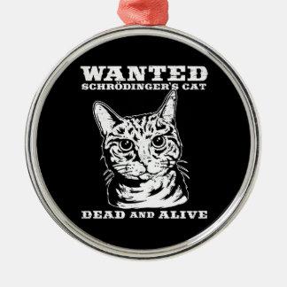 Le chat de Schrodinger a voulu des morts ou vivant Décoration De Noël
