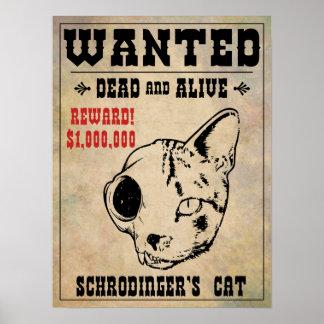 Le chat de Schrodinger a voulu II Posters