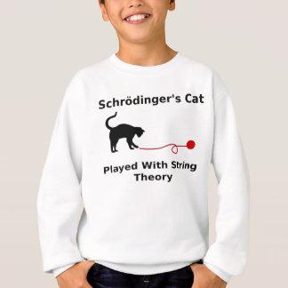 Le chat de Schrödinger joué avec la théorie de Sweatshirt