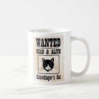 Le chat de Schrodinger voulu Mug