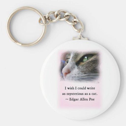 Le chat du Poe Porte-clés