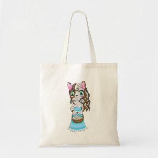 le chat est dans le sac