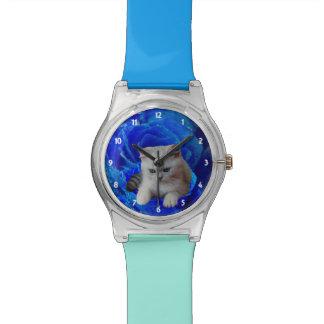 Le chat et s'est levé montres bracelet