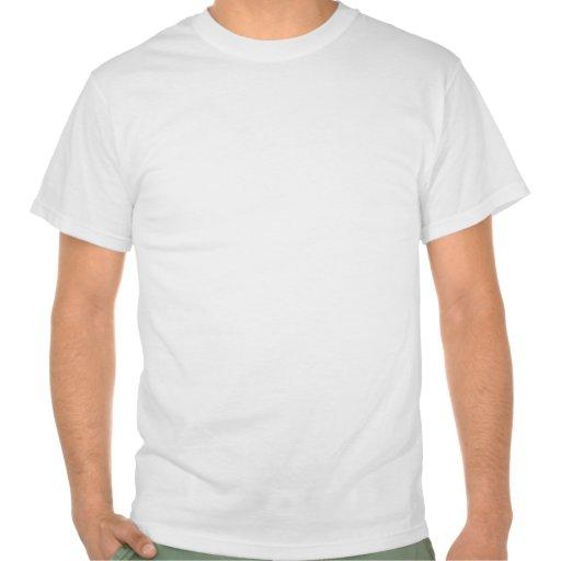 Le chat fâché exige l'attention t-shirts