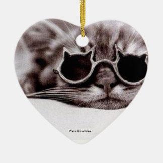 Le chat le plus frais vivant - ornement en