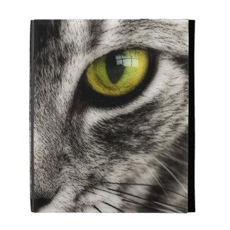 Le chat lèchent étuis iPad folio