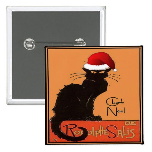 Le Chat Noel Badges