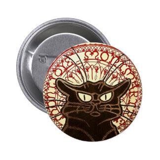 Le Chat Noir, beaux-arts de Vente Hôtel Drouot Badge Rond 5 Cm