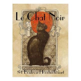 Le Chat Noir Carte Postale