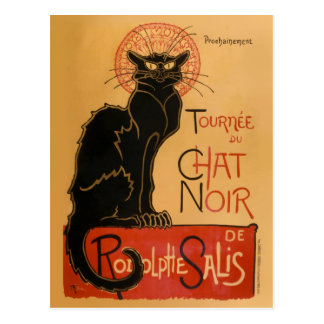 Le Chat Noir Carte Postale