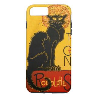 Le Chat Noir le cru de Nouveau d'art de chat noir Coque iPhone 7 Plus