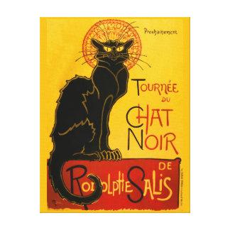 Le Chat Noir le cru de Nouveau d'art de chat noir Toiles