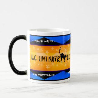 Le Chat Noir (tasse magique personnalisée)