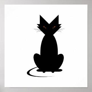 Le chat terrible d'Ella Posters