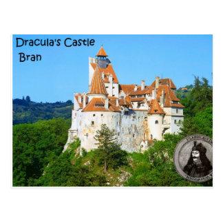 Le château de Dracula, son Carte Postale