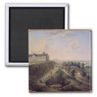 Le château de Meudon Magnet Carré