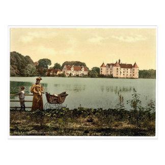 Le château, Glucksburg, Schleswig-Holstein, Carte Postale