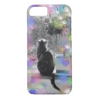 Le chaton de l'amoureux des chats coque iPhone 7