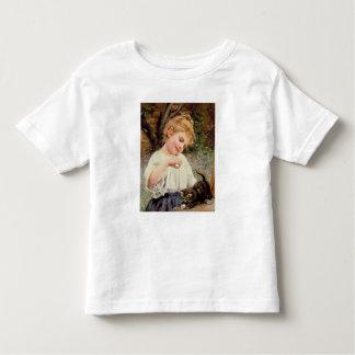 Le chaton espiègle t-shirt pour les tous petits