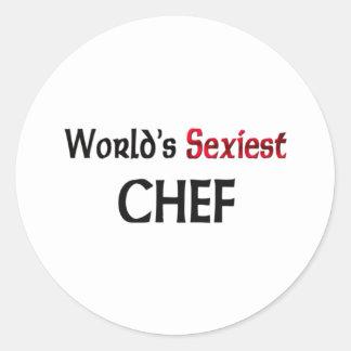 Le chef le plus sexy du monde autocollant