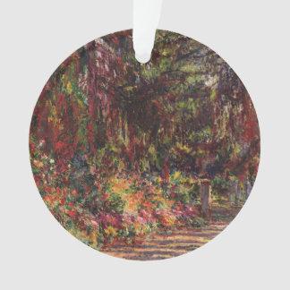 Le chemin de jardin chez Giverny
