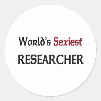 Le chercheur le plus sexy du monde autocollant