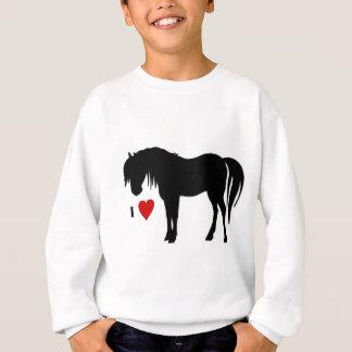 Le cheval conçoit - des T-shirts et non des