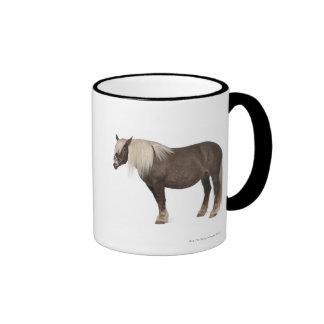 Le cheval de Comtois est un cheval de trait - caba Tasse